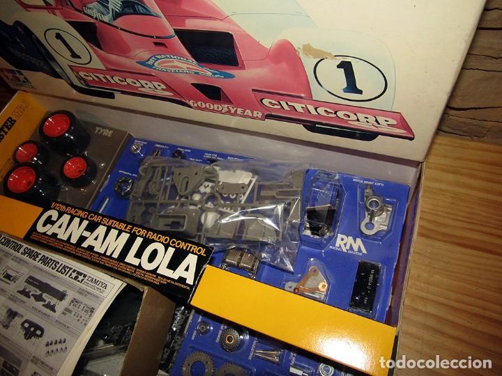 Maquetas: CAN-AM LOLA, DE TAMIYA - NUEVO A ESTRENAR Y EN SU CAJA ORIGINAL - 1:12 - MAQUETA MAQUETTE VINTAGE - Foto 4 - 269762498