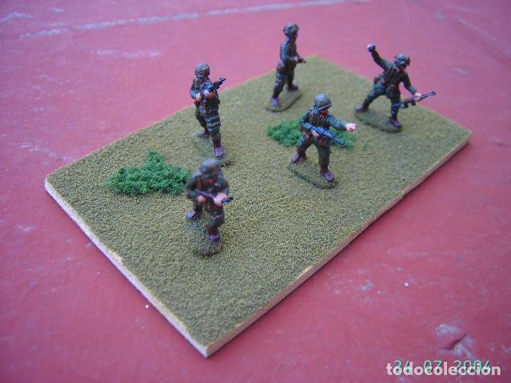 DIORAMA PARACAIDISTAS AMERICANOS II GUERRA MUNDIAL.ESCALA 1/72. (Juguetes - Modelismo y Radiocontrol - Maquetas - Militar)