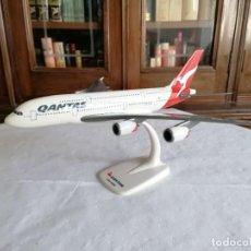 Maquetas: HERPA 1/250 AVIÓN AIRBUS A380 QANTAS. Lote 269804438