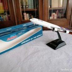 Maquetas: SKYMARKS 1/200 SKR584 AVIÓN A340-600 THAI AIRWAYS. Lote 269805453
