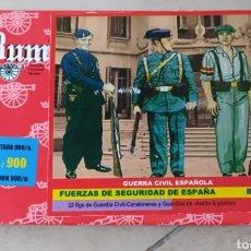 Maquetas: MAQUETA BUM 1/72 5010 FUERZAS DE SEGURIDAD DE ESPAÑA GUERRA CIVIL. Lote 269965583