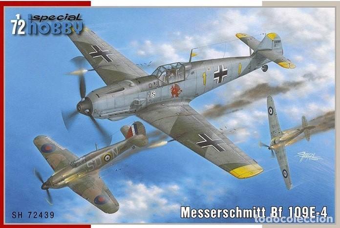 SÈCIAL HOBBY 72439 # 1:72 MESSERSCHMITT BF 109E-4 (Juguetes - Modelismo y Radio Control - Maquetas - Aviones y Helicópteros)