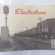 Macchiette: CATALOGO ELECTROTREN H0, PRIMER CATALOGO AÑO 1958, 16 PAGINAS. Lote 271886098