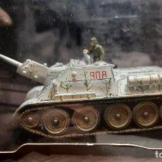 Maquettes: TANQUE M1A2 ABRAMS ESCALA 1/72 FORCES OF VALOR METAL 2005 DESCATOLOGADO. Lote 271647113