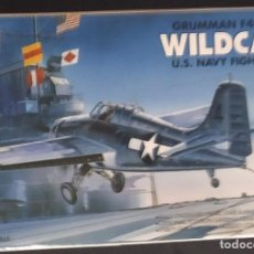 Maquetas: GRUMMAN F4F WILDCAT. ACADEMY. ESCALA 1/72. MODELO NUEVO. Lote 272431693