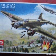Maquetas: PZL 37A LOS. ZTS ESCALA 1/72. MODELO NUEVO. Lote 273039638