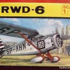 Maquetas: RWD-6. ZTS ESCALA 1/72. MODELO NUEVO. Lote 273039753