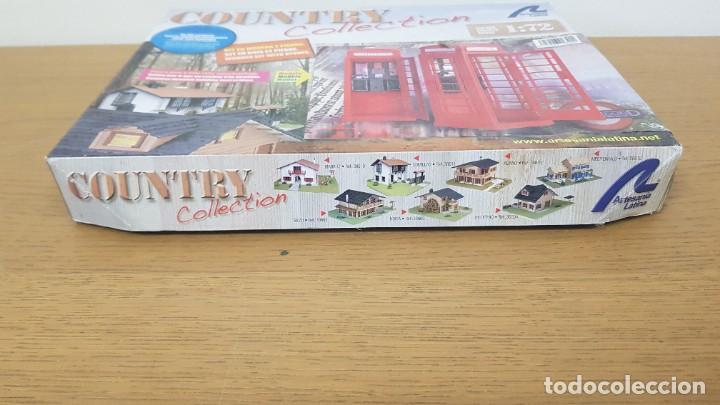 Maquetas: Maqueta en madera cabina telefonica inglesa ref 20320 escala 1:10 artesania latina incompleta - Foto 2 - 274555178