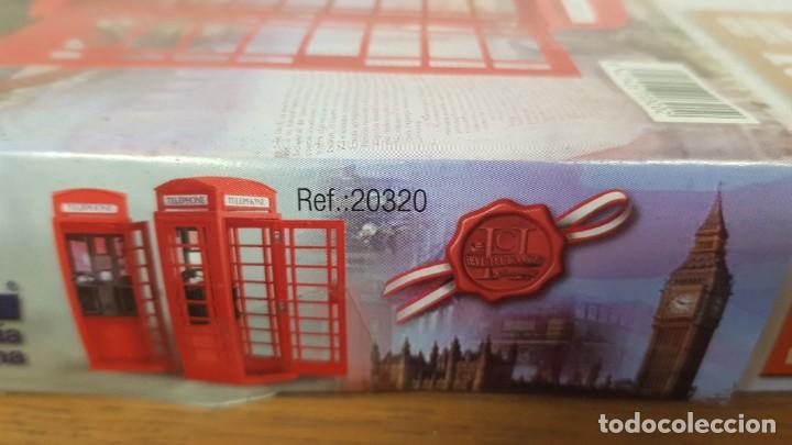 Maquetas: Maqueta en madera cabina telefonica inglesa ref 20320 escala 1:10 artesania latina incompleta - Foto 4 - 274555178