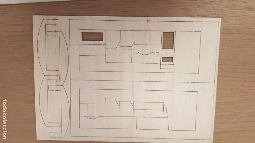 Maquetas: Maqueta en madera cabina telefonica inglesa ref 20320 escala 1:10 artesania latina incompleta - Foto 13 - 274555178