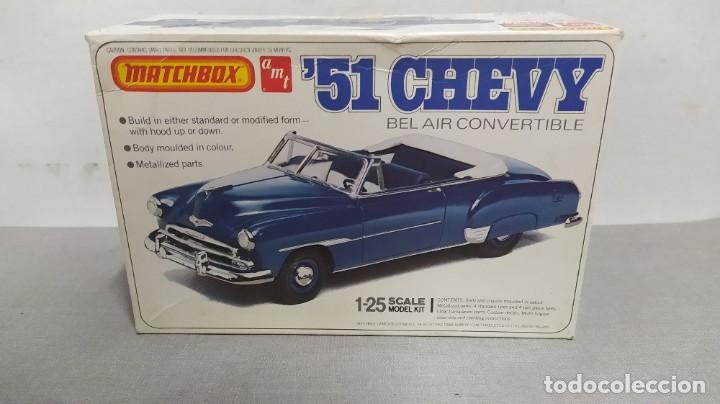 51' CHEVY BEL AIR CONVERTIBLE. MATCHBOX 1/25. NUEVO, TODO PRECINTADO (Juguetes - Modelismo y Radiocontrol - Maquetas - Coches y Motos)