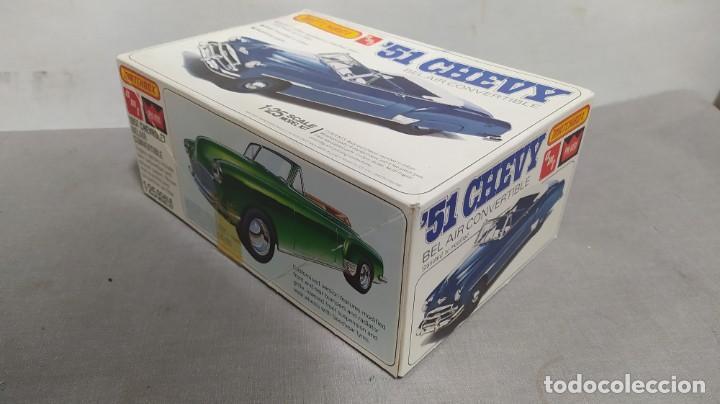 Maquetas: 51 Chevy Bel air convertible. Matchbox 1/25. Nuevo, todo precintado - Foto 2 - 274686348