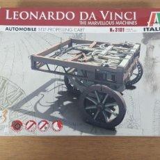 Maquetas: MAQUETA DEL AUTOMOVIL DE LEONARDO DA VINCI ESCALA NO DETERMINADA REF 3101 ITALERI. Lote 274936528