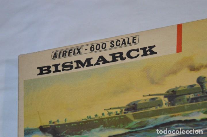 Maquetas: BISMARCK / Principios de los 60 / AIRFIX - Ref. F404S / Nos - Sin usar - ¡Muy, muy difícil, MIRA! - Foto 7 - 275145953