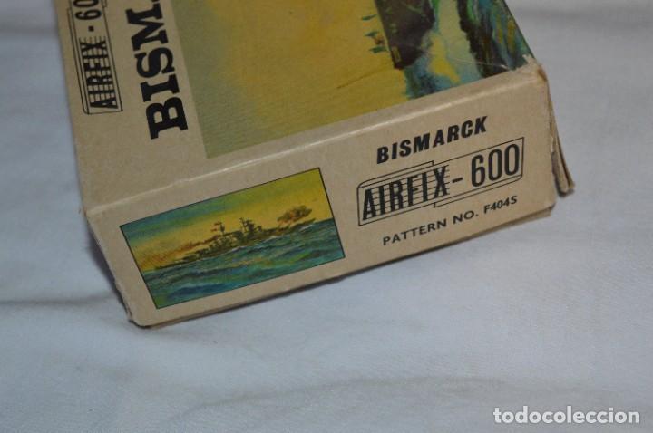 Maquetas: BISMARCK / Principios de los 60 / AIRFIX - Ref. F404S / Nos - Sin usar - ¡Muy, muy difícil, MIRA! - Foto 11 - 275145953