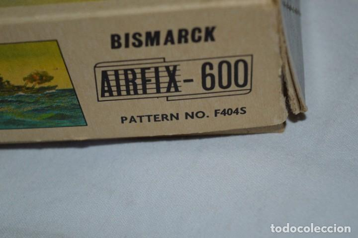 Maquetas: BISMARCK / Principios de los 60 / AIRFIX - Ref. F404S / Nos - Sin usar - ¡Muy, muy difícil, MIRA! - Foto 13 - 275145953