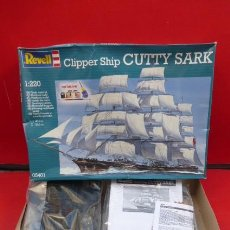 Maquetas: MAQUETA DEL CLIPPER CUTTY SARK..DE REVELL, SIN ABRIR-ABIERTO PARA LAS FOTOS.ESCALA 1/220. Lote 276094828