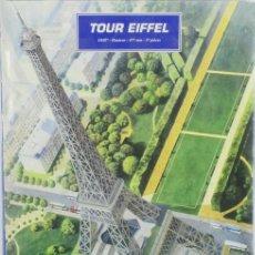 Maquetas: MAQUETA TORRE EIFFEL, REF. 61201, 1/650, HELLER. Lote 276582733