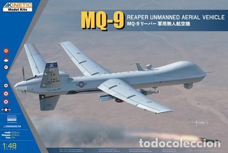 KINETIC 48067 # MQ-9 REAPER W/GBU-12 1:48 (Juguetes - Modelismo y Radio Control - Maquetas - Aviones y Helicópteros)
