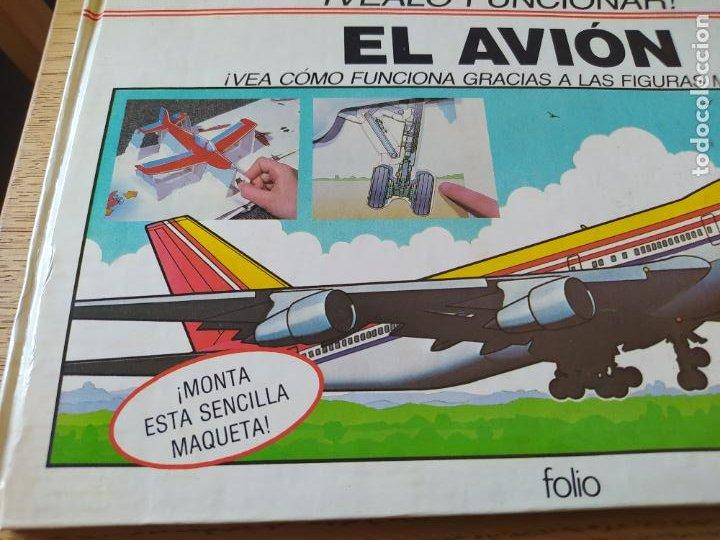 Maquetas: El Avión, ¡Vealo funcionar! Completo con la maqueta y en buen estado. Una joya. - Foto 2 - 276923423