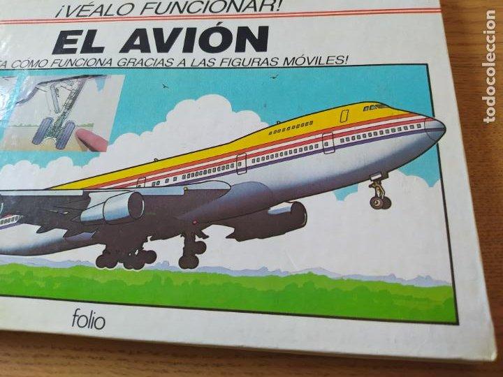 Maquetas: El Avión, ¡Vealo funcionar! Completo con la maqueta y en buen estado. Una joya. - Foto 3 - 276923423