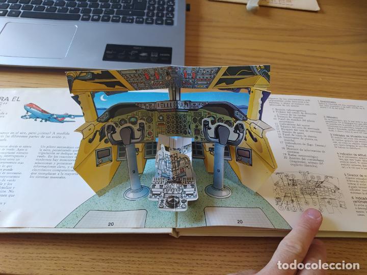 Maquetas: El Avión, ¡Vealo funcionar! Completo con la maqueta y en buen estado. Una joya. - Foto 6 - 276923423
