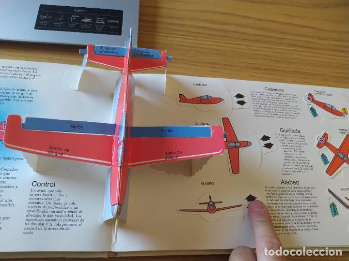 Maquetas: El Avión, ¡Vealo funcionar! Completo con la maqueta y en buen estado. Una joya. - Foto 7 - 276923423