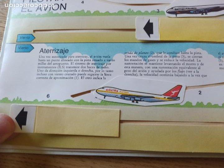 Maquetas: El Avión, ¡Vealo funcionar! Completo con la maqueta y en buen estado. Una joya. - Foto 16 - 276923423