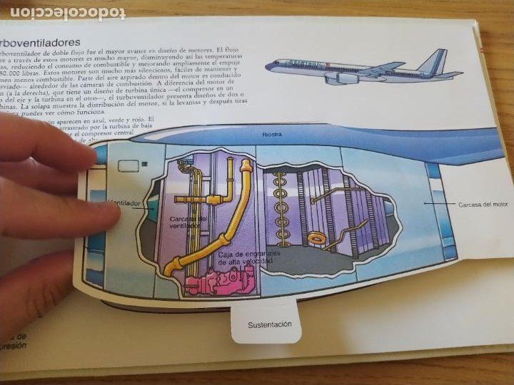 Maquetas: El Avión, ¡Vealo funcionar! Completo con la maqueta y en buen estado. Una joya. - Foto 18 - 276923423