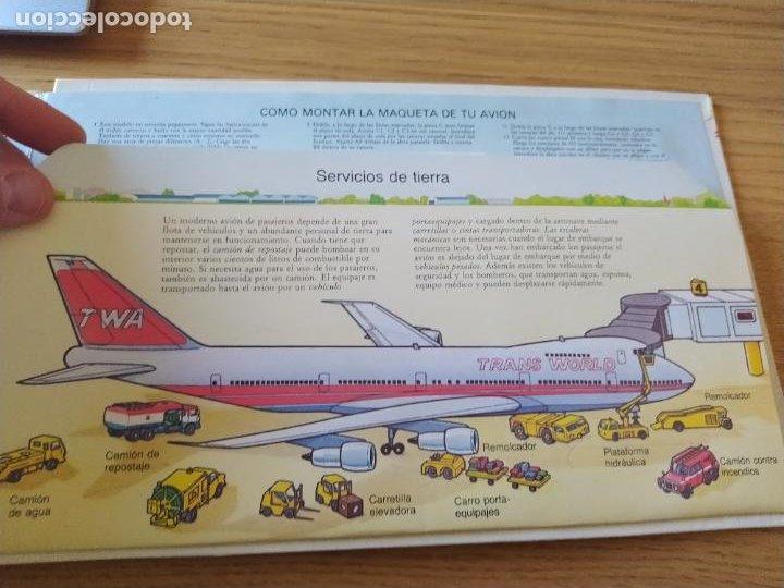 Maquetas: El Avión, ¡Vealo funcionar! Completo con la maqueta y en buen estado. Una joya. - Foto 22 - 276923423