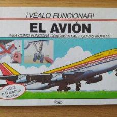 Maquetas: EL AVIÓN, ¡VEALO FUNCIONAR! COMPLETO CON LA MAQUETA Y EN BUEN ESTADO. UNA JOYA.. Lote 276923423
