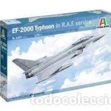 Maquetas: ITALERI - EF-2000 TIPHOON IN R.A.E. SERVICE 1/72 1457. Lote 277038008