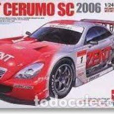 Maquetas: TAMIYA - ZENT CERUMO SC 2006 1/24 24303. Lote 277041128