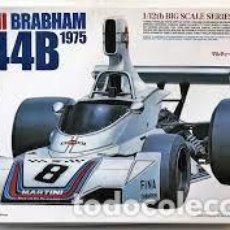 Maquetas: TAMIYA - MARTINI BRABHAM BT44B 1975 INCLUIDOS PARTES EN ALUMINIO Y FOTOGRABADOS 1/12 12042. Lote 277042903