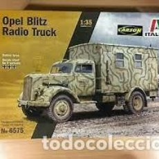 Maquetas: ITALERI - OPEL BLITZ RADIO TRUCK 1/35 6575. Lote 277043088