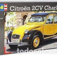 Macchiette: REVELL - CITROEN 2CV CHARLESTON 1/24 07095. Lote 277046038