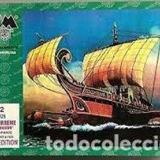 Maquetas: BUM - ROMAN TIRREME BRITAIN INVASION 0125 1/72. Lote 277046628