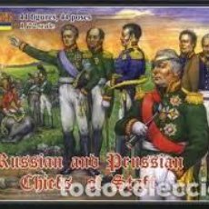 Maquetas: STRELETS - RUSSIAN AND PRUSSIAN CHIEFTS OF STAFF 0002. Lote 277047153