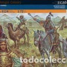 Maquetas: ITALERI - MONGOL CAVALRY 1/72 6124. Lote 277047308