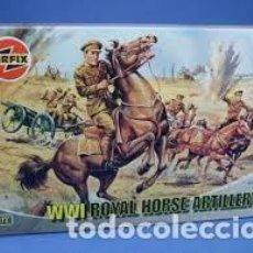 Maquetas: AIRFIX WWII ROYAL HORSE ARTILLERY 1/72 01731. Lote 277047563