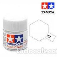 Macchiette: TAMIYA - X2 BLANCO BRILLO. Lote 277159313