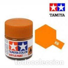 Macchiette: TAMIYA - X6 NARANJA BRILLO. Lote 277159768