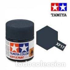 Maquetas: TAMIYA - XF17 SEA BLUE. Lote 277160203