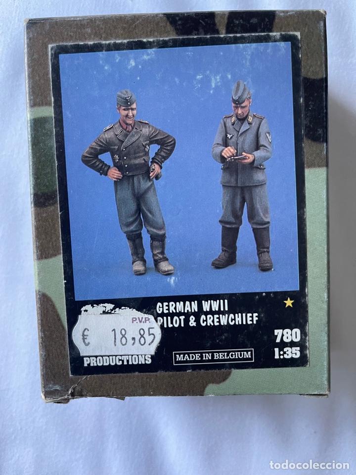 GERMÁN WWII PILOT & CREWCHIEF 1:35 VERLINDEN 780 MAQUETA FIGURAS AVION 1:32 (Juguetes - Modelismo y Radiocontrol - Maquetas - Militar)