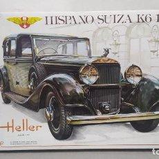 Maquetas: HISPANO SUIZA K6 1934 ESCALA 1/24 HELLER. NUEVO, BOLSAS SIN ABRIR. Lote 277451853