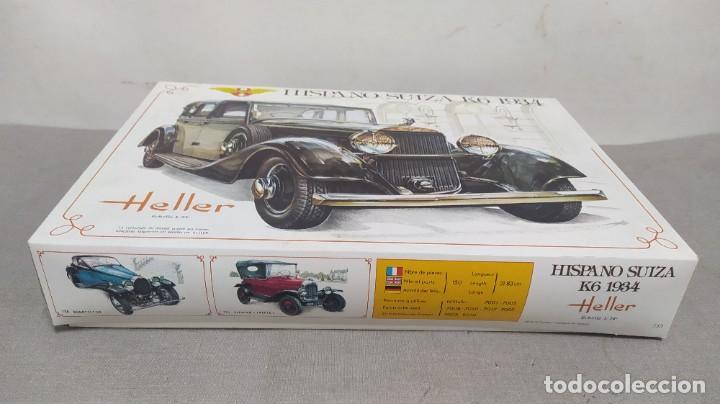 Maquetas: Hispano Suiza K6 1934 escala 1/24 Heller. Nuevo, bolsas sin abrir - Foto 2 - 277451853