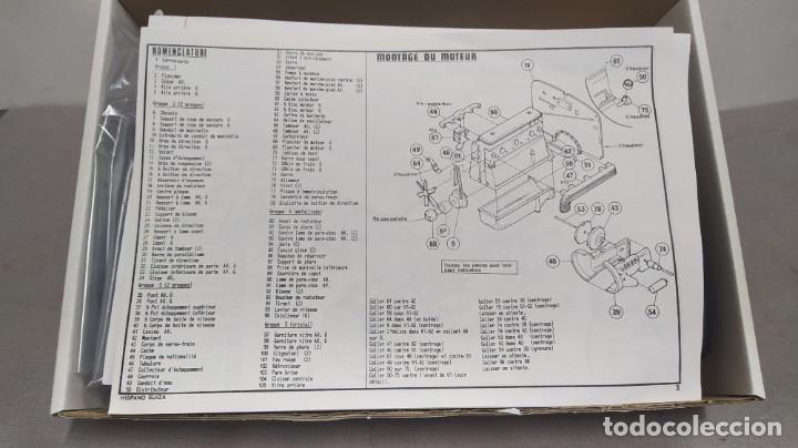 Maquetas: Hispano Suiza K6 1934 escala 1/24 Heller. Nuevo, bolsas sin abrir - Foto 3 - 277451853