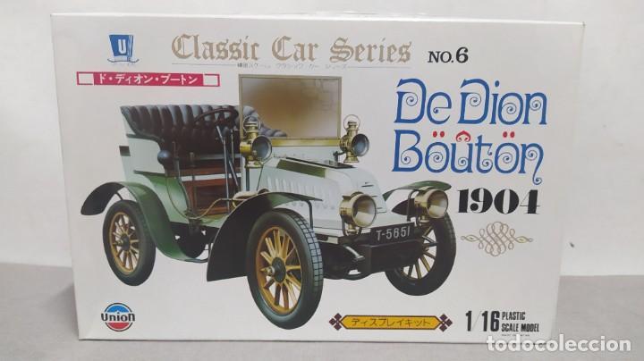 DE DION BOUTON 1904 ESCALA 1/16 DE UNION MADE IN JAPAN. NUEVO Y COMPLETO.BOLSAS PRECINTADAS (Juguetes - Modelismo y Radiocontrol - Maquetas - Coches y Motos)