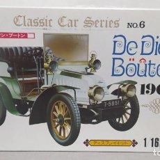 Maquetas: DE DION BOUTON 1904 ESCALA 1/16 DE UNION MADE IN JAPAN. NUEVO Y COMPLETO.BOLSAS PRECINTADAS. Lote 277452863