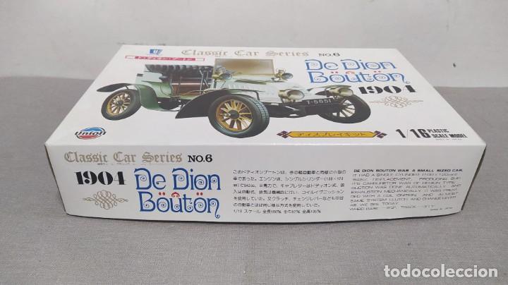 Maquetas: De Dion Bouton 1904 escala 1/16 de Union made in Japan. Nuevo y completo.bolsas precintadas - Foto 2 - 277452863